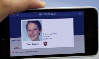 Profielfoto t.b.v. digitale spelerspas