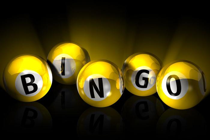 Bingo maandag 16 oktober a.s.